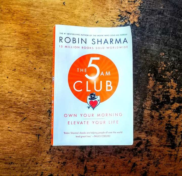 Book Review: The 5AM Club by Robin Sharma